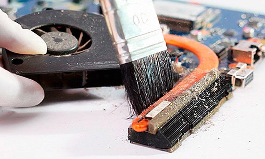 чистка ноутбука от пыли в Мелитополе