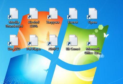 Восстановление ассоциаций REG, EXE и LNK файлов