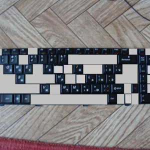 Клавиши для ноутбука Lenovo IdeaPad G560 и G565.